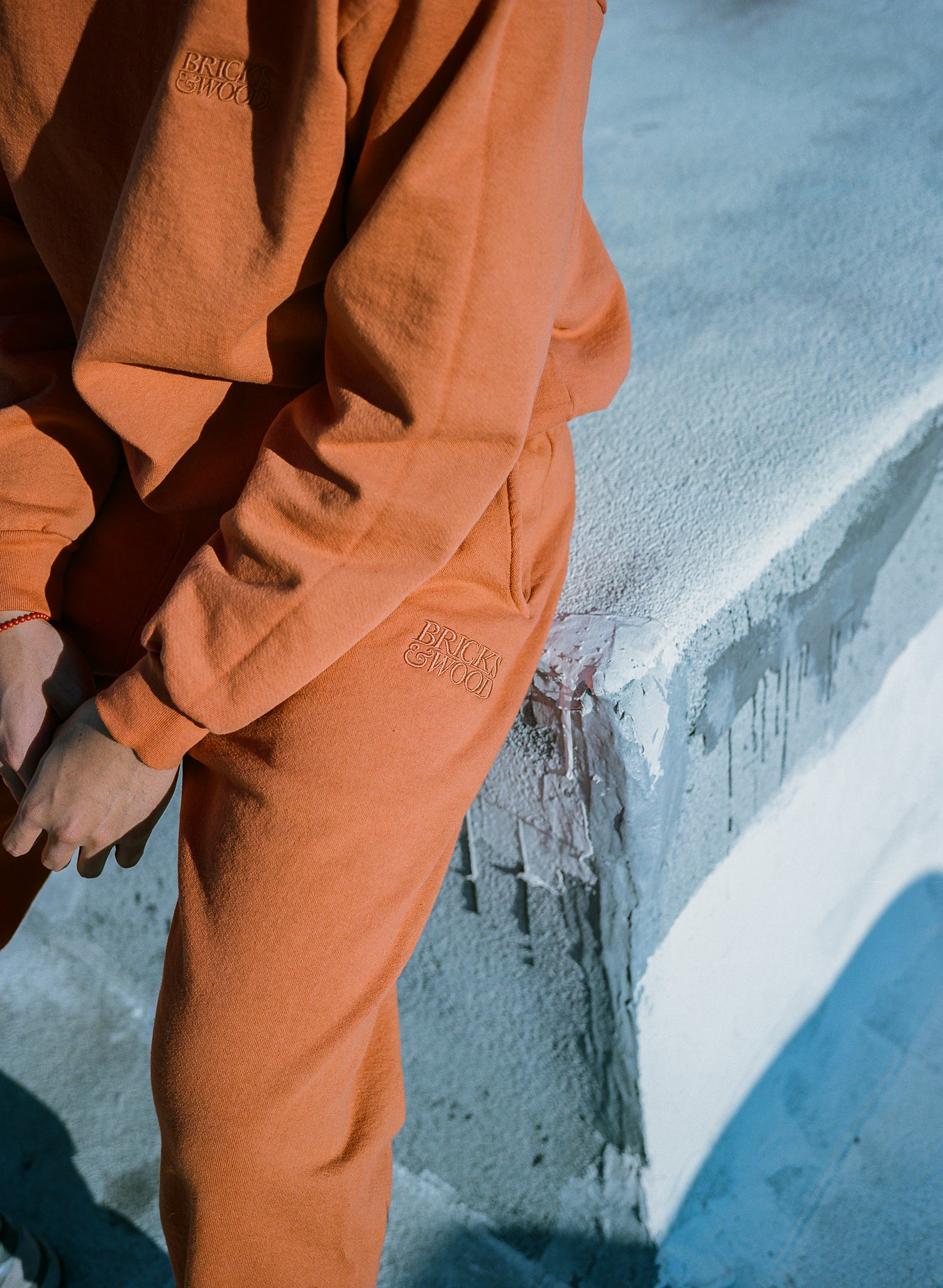 Logo Sweatpants - Burnt Orange
