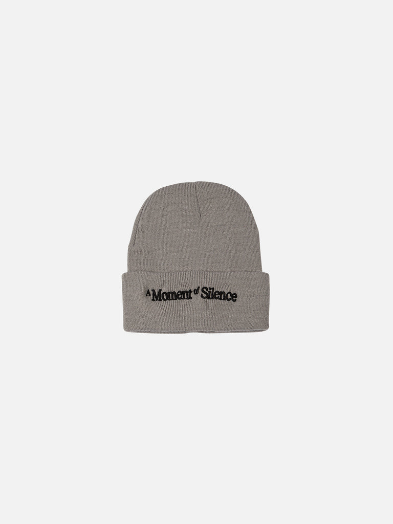A Moment of Silence Beanie - Charcoal
