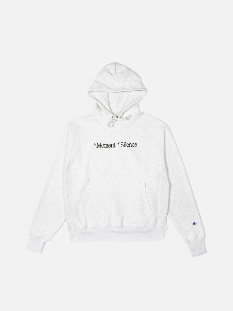 A Moment of Silence Hoodie - Heather