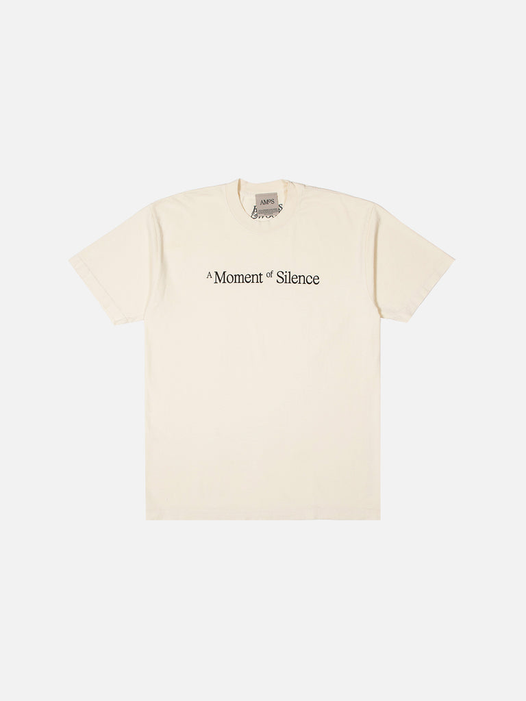A Moment of Silence Tee - Cream