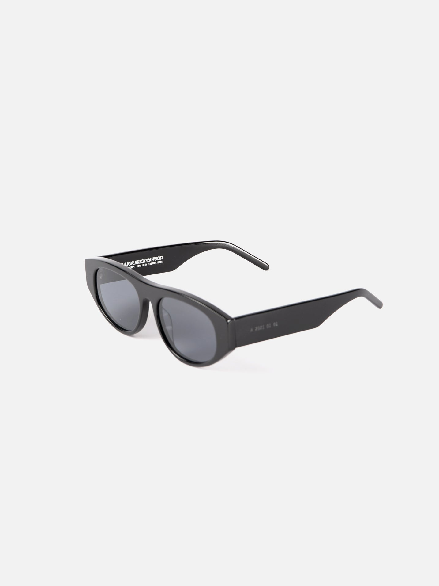 "Akila x Bricks & Wood ""Halldale"" Sunglasses - Black"