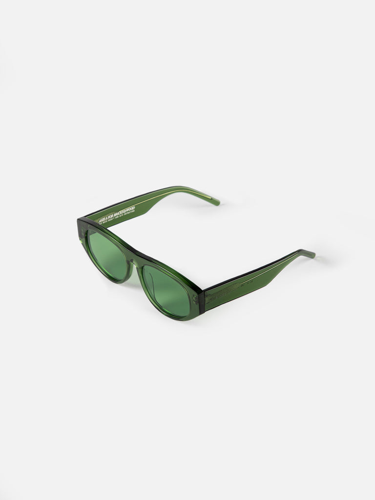 "Akila x Bricks & Wood ""Halldale"" Sunglasses - Moss"