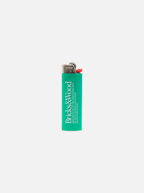 BIC® Classic® Bricks & Wood Lighter - Forest Green