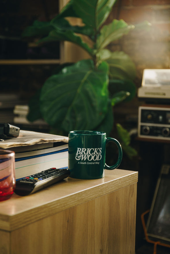 A South Central Mug - Forest Green