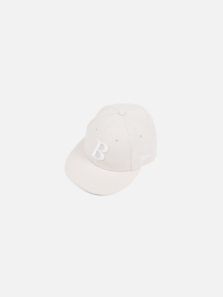 New Era B Logo Cap - Stone