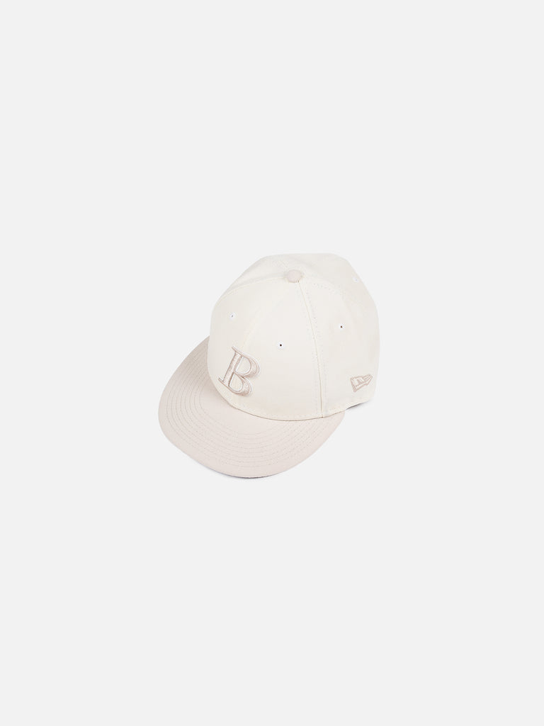 New Era B Logo Cap - Chrome