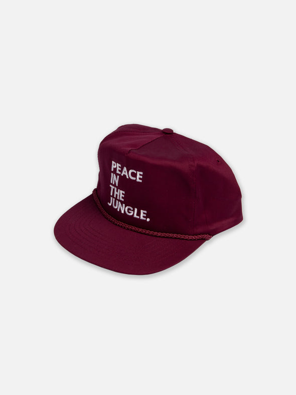 Wine Peace In The Jungle Snapback