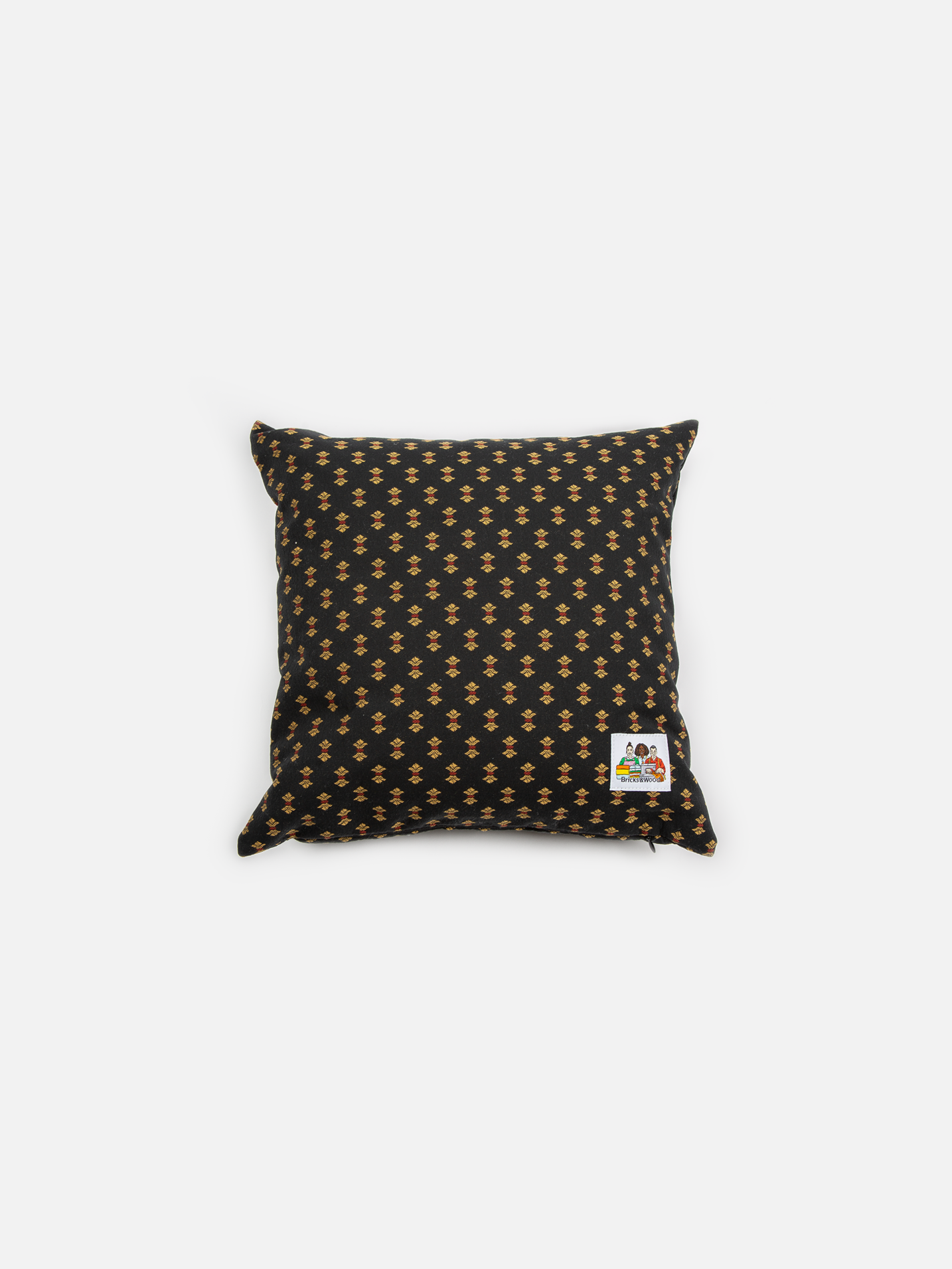 Alumni Throw Pillow - Navy