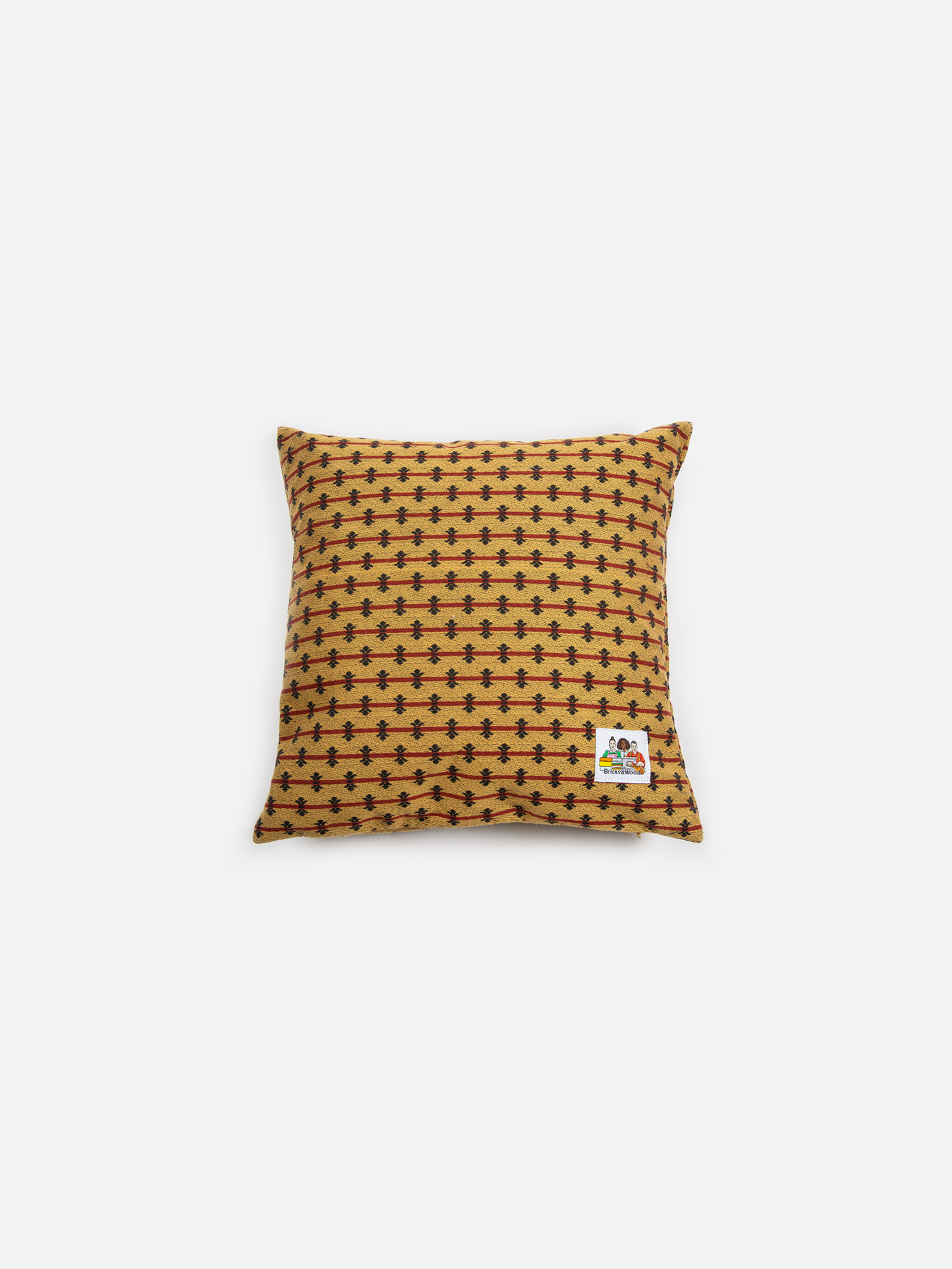 Alumni Throw Pillow - Gold