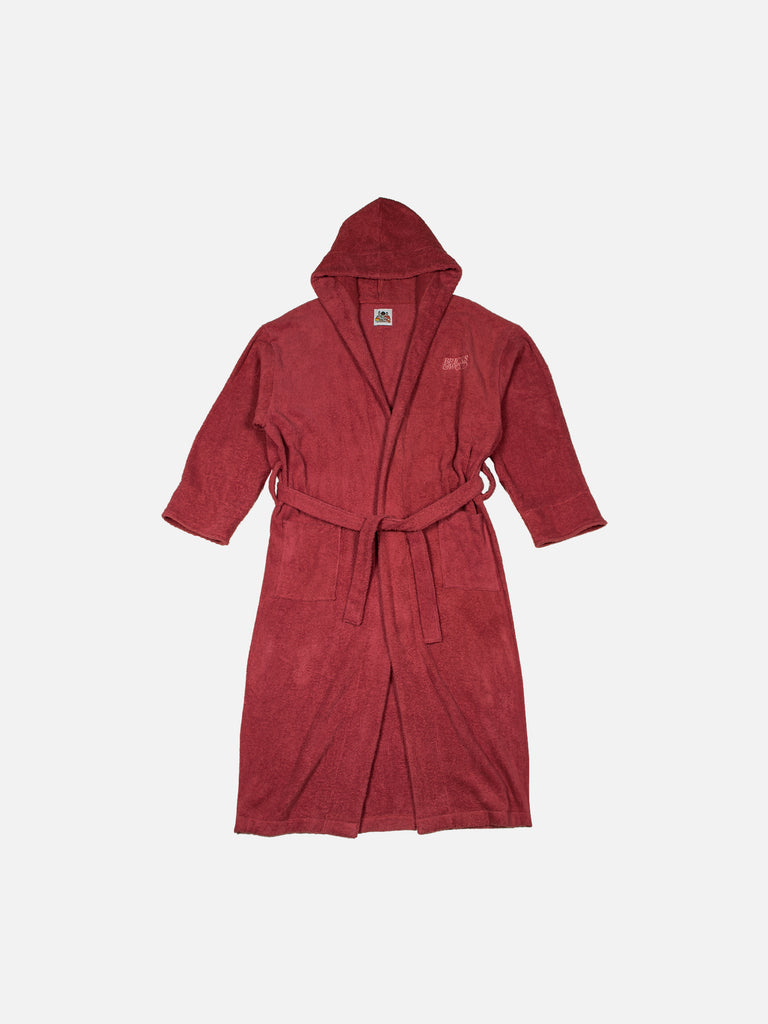 Terry Cloth Robe - Rose Pink