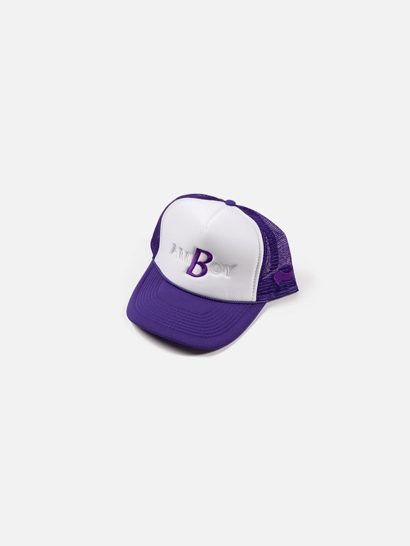 Amboy x Bricks & Wood Family Style Trucker Hat - Purple
