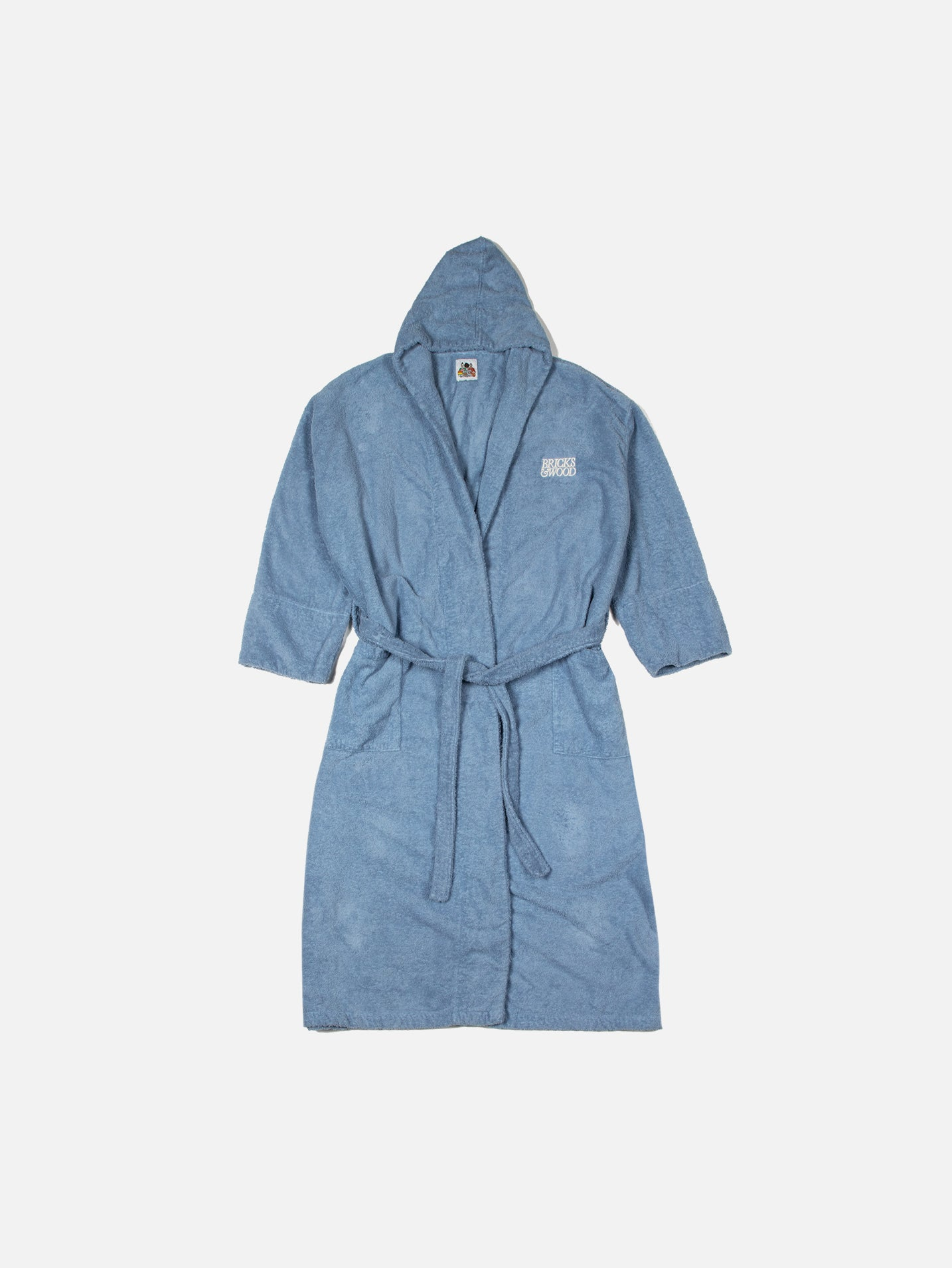 Terry Cloth Robe - Sky Blue