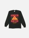 Hamachi Hunters x Bricks & Wood L/S Tee - Black