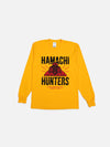 Hamachi Hunters x Bricks & Wood L/S Tee - Gold