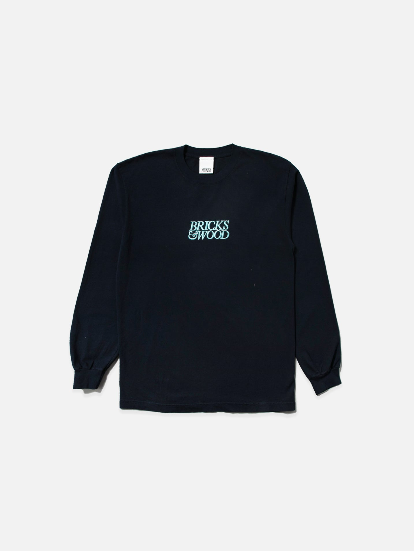 Navy Logo L/S Tee - Norse
