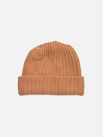 Dusty Rose Heavy Knit Beanie