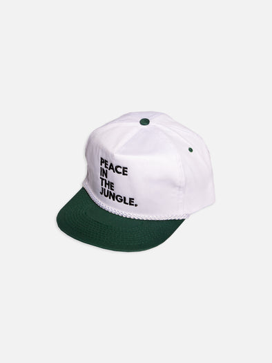 White Peace In The Jungle Snapback