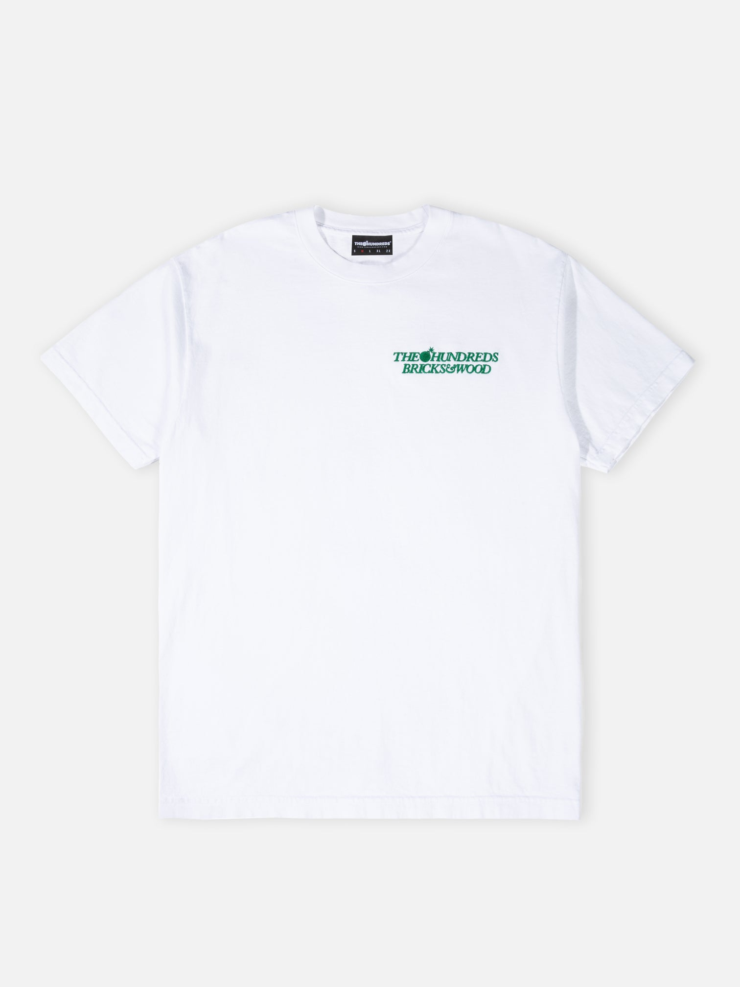 Bricks Tee - White