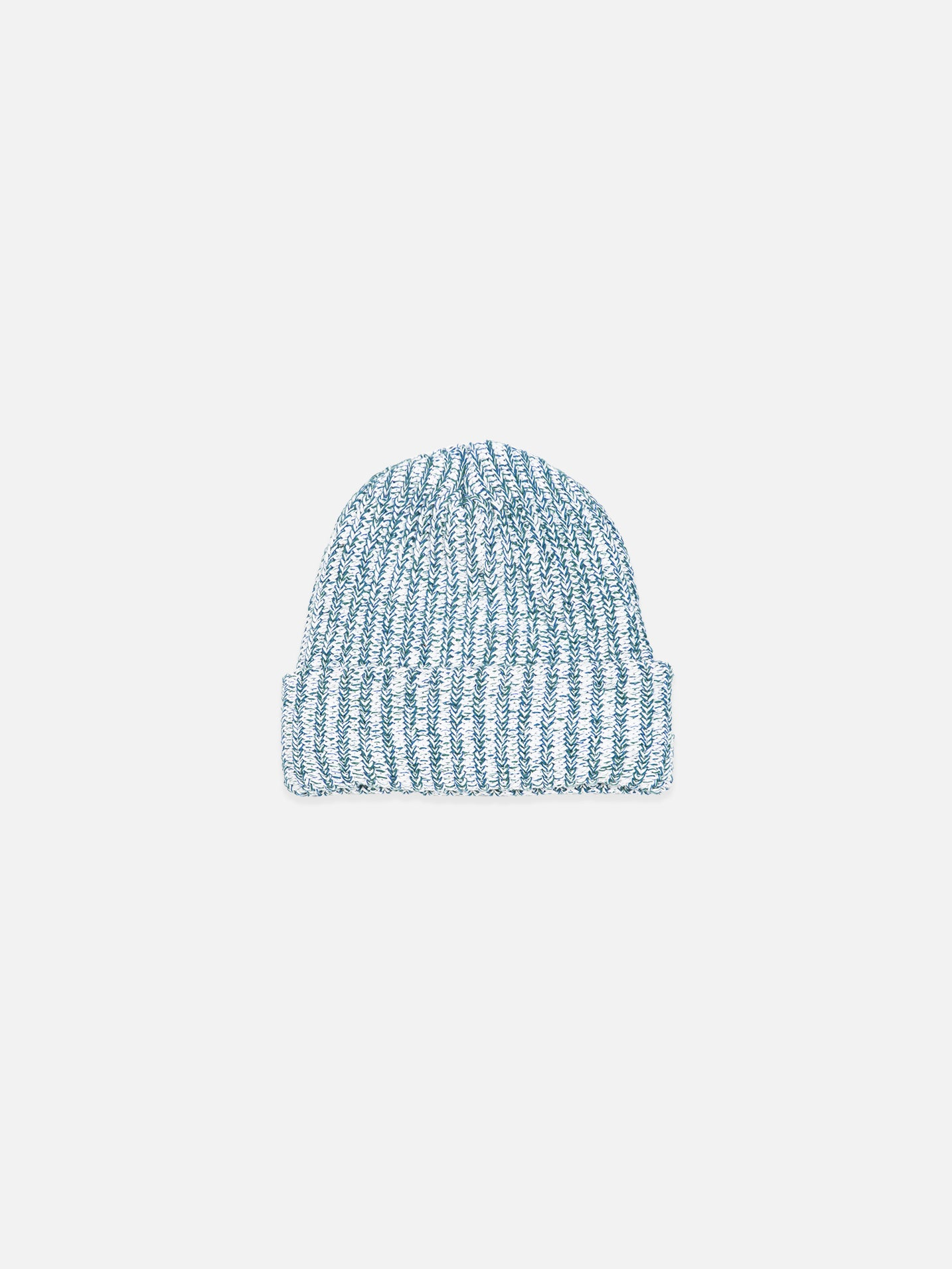 Heavy Knit Beanie - Winter Green