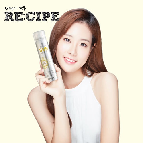 [RE:CIPE] 완전투명 썬스프레이 Sun Spray SPF50+ PA+++ 150ml - HotDeal.Koreadaily