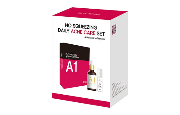 [닥터스킨] dr.timepeel NO SQUEEZING DAILY ACNE CARE SET