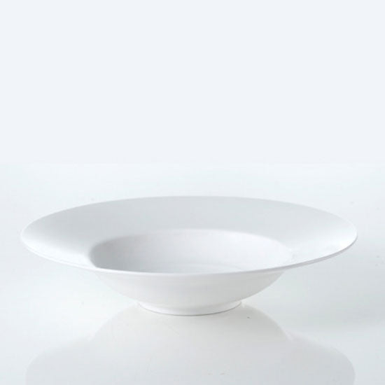 [한국도자기] Origin White Rim Soup Bowl 1pc