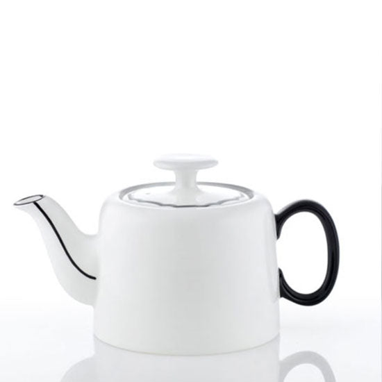 [한국도자기] 화이트블룸 Black Edition slow Morning Teapot 1(2)pc