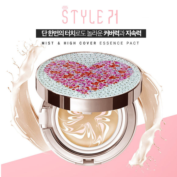 [Style 71] Oil Capsules Essence Pact SPF50+ PA+++ Handmade Cover Design
