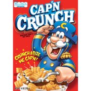 Cereal Seco-Dry Cereal-Cap'n Crunch Breakfast Cereal, 14 Oz