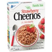 Cereal Seco-Dry Cereal-Cheerios™ Limited Edition Strawberry Cereal 21 oz. Box