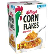 Cereal-Kellogg's Corn Flakes Cereal, 36 oz box