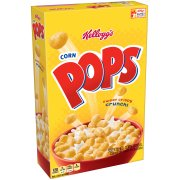 Cereal-Kellogg's Corn Pops Crunchy Sweet Cereal, 17.2 ounce box
