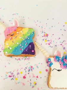 How to make Magical Unicorn Toast