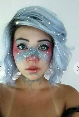 Halloween best magic makeup for fairy, unicorn, mermaid or other amazing creature!