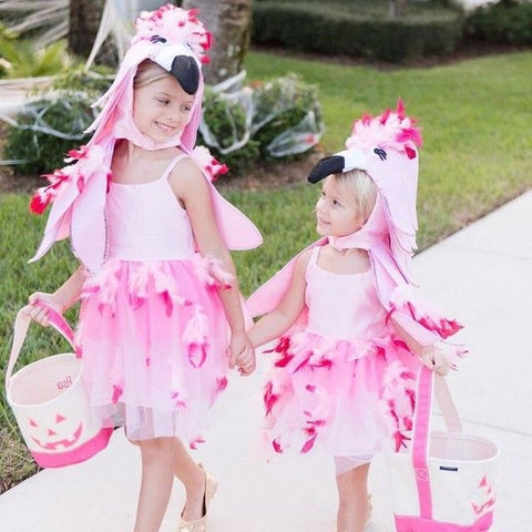 Pink flamingo custome for kids
