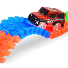 Glowing Car Racing Sets