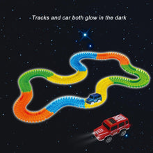 Glowing Car Racing Track Set - Glowing Car Racing Track Set