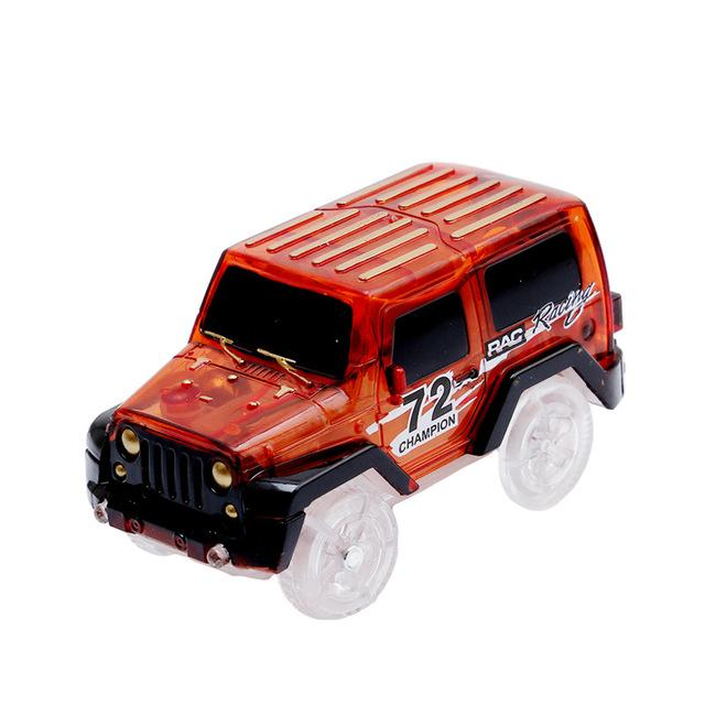 Glowing Truck Racing Sets
