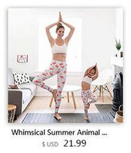 Leggings - Flamingo Yoga Girl Pants