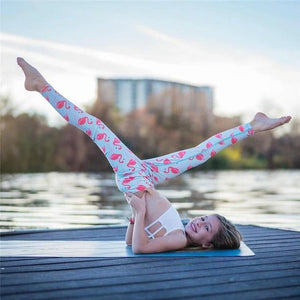 Leggins - Flamingo Yoga Woman Pants