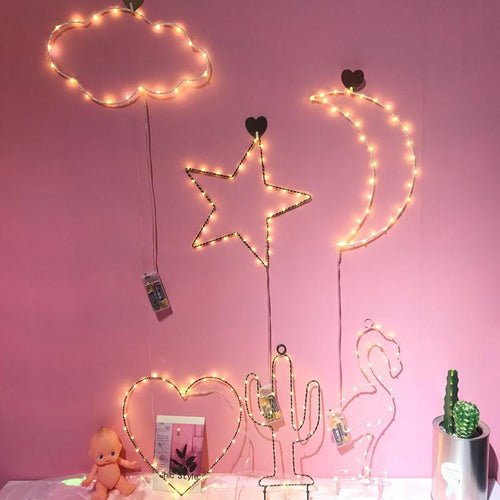 Light - Cloud, Moon, Star Decoration Lamp