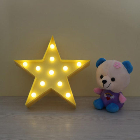 Light - Cute Night Light Bedroom Wall Lamp For Children