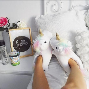 Light Up Slippers - Unicorn Light Up Slippers