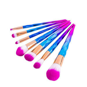 Make Up - 7pcs Unicorn Makeup Brushes
