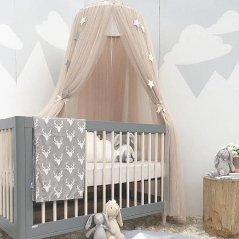 Net - Bed Valance Kids Room Decoration