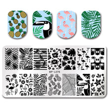 Stamping nail set - summer set 2018 (5PC)