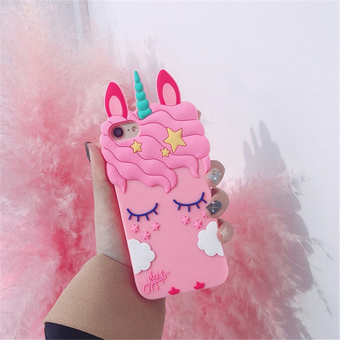 Sleeping Unicorn Phone Case