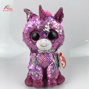 Changing color Sequin plush - New amazing toy!