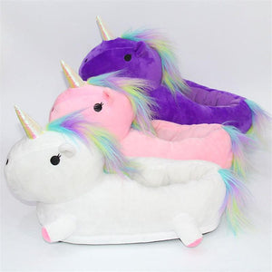 Slippers - Lovely Unicorn Slippers