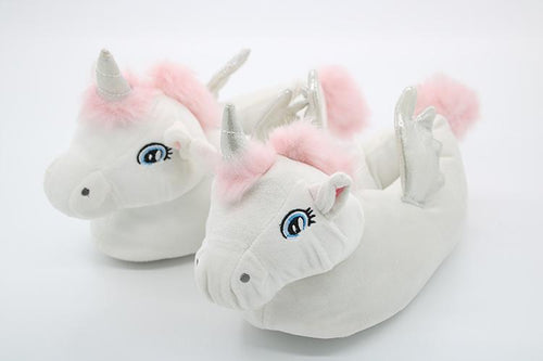 Slippers New - Pink Unicorn Slippers